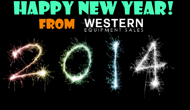 Happy New Year from Western Equipment Sales